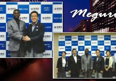 Meguro accueille le Nouveau Chargé d'Affaires
