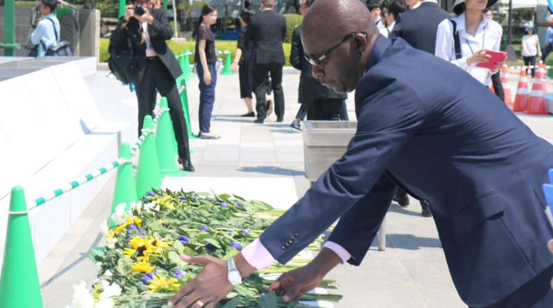 HIROSHIMA: 72e anniversaire des cérémonies pour la Paix