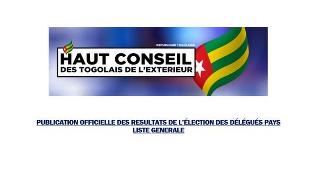 Les 77 délégués Pays du HCTE officiellement connus