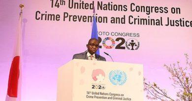 Clôture des travaux du 14ième Congrès des Nations Unies sur le Crime et la Justice Pénale